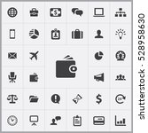 wallet icon. business icons... | Shutterstock . vector #528958630