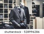 Men Elegant Clothing Showcase