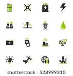 alternative energy icons set... | Shutterstock .eps vector #528999310