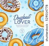 doughnut elements   vector... | Shutterstock .eps vector #529014778