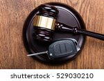 car accident lawsuit | Shutterstock . vector #529030210