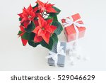 christmas and happy new year...   Shutterstock . vector #529046629