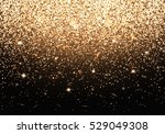 gold lights. christmas... | Shutterstock .eps vector #529049308