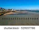 english seaside resort  ... | Shutterstock . vector #529057780