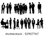 business people | Shutterstock .eps vector #52907767