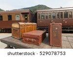 Old  Vintage Suitcases On...