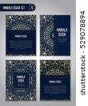 tribal mandala design set.... | Shutterstock .eps vector #529078894