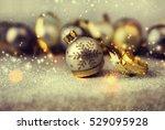 christmas balls. | Shutterstock . vector #529095928