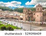 view of plaza de armas in cusco ...   Shutterstock . vector #529098409