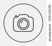 camera list vector icon. photo... | Shutterstock .eps vector #529110250