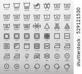 international laundry washing...   Shutterstock .eps vector #529121530