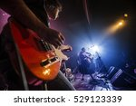 guitarist playing live | Shutterstock . vector #529123339