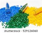 Polymeric Dye. Plastic Pellets...