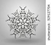 geometric pattern radial  ...   Shutterstock .eps vector #529127704