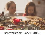 small children waiting for... | Shutterstock . vector #529128883