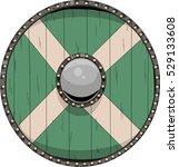 medieval shield cartoon... | Shutterstock .eps vector #529133608