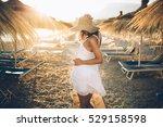 best beach vacation destination....   Shutterstock . vector #529158598