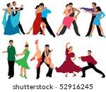 dance | Shutterstock .eps vector #52916245