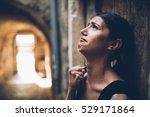Woman With Sad Face Crying.sad...