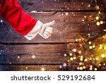 Santa Claus Hand Thumb Up...