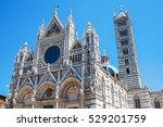 picture of the famous siena... | Shutterstock . vector #529201759