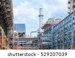 industrial zone  the equipment... | Shutterstock . vector #529207039