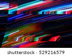Glitch, Abstract lighting background. - stock photo