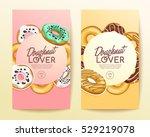doughnut elements   vertical ... | Shutterstock .eps vector #529219078
