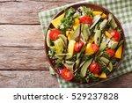 gourmet salad of mango  avocado ...   Shutterstock . vector #529237828