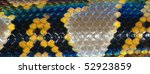 boa snake skin pattern texture background - stock photo