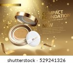 3d illustration foundation... | Shutterstock .eps vector #529241326