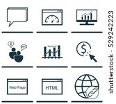 set of 9 marketing icons. can...