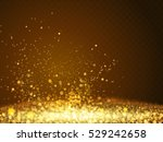 abstract bokeh glittering... | Shutterstock .eps vector #529242658