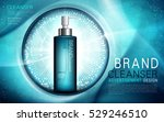 water sense cleanser  contained ... | Shutterstock .eps vector #529246510