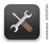 flat vector icon   illustration ... | Shutterstock .eps vector #529253764