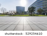 empty floor with modern... | Shutterstock . vector #529254610