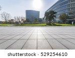 empty floor with modern...   Shutterstock . vector #529254610