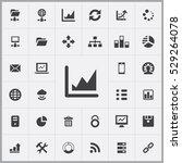 chart icon. big data  database... | Shutterstock . vector #529264078