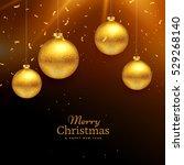 merry christmas celebration...   Shutterstock .eps vector #529268140