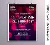 beautiful event flyer design... | Shutterstock .eps vector #529269808
