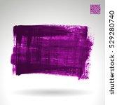 brush stroke and texture.... | Shutterstock .eps vector #529280740
