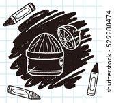 squeezer doodle | Shutterstock .eps vector #529288474