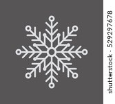 Snowflake     Icon   Isolated....