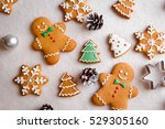 beautiful christmas background... | Shutterstock . vector #529305160