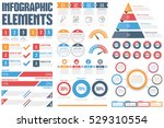 infographic elements   process... | Shutterstock .eps vector #529310554