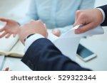 breaking contract. furious... | Shutterstock . vector #529322344
