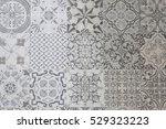 ceramic tiles patterns | Shutterstock . vector #529323223