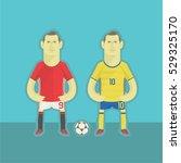 sweden football players | Shutterstock .eps vector #529325170