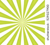 green sun rays background  ... | Shutterstock .eps vector #529327900