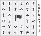 flag icon. award icons...   Shutterstock . vector #529329010